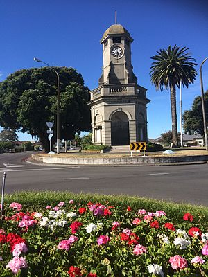 Taradale, New Zealand - The Taradale Clocktower