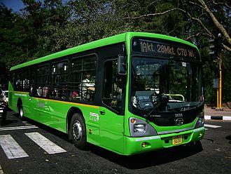 Tata Marcopolo - A Tata Marcopolo bus in Chandigarh, India.