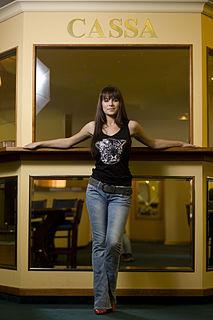 Tatjana Pašalić Croatian poker presenter