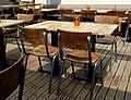 Taula d'un restaurant de l'Arenal, Xàbia.jpg