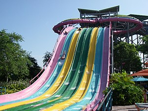 WhiteWater West - Taumata Racer at Aquatica Florida (WhiteWater West Whizzard)
