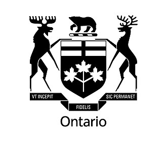 Cabinet Office (Ontario) - Image: Tbs visualidentity COA Blk
