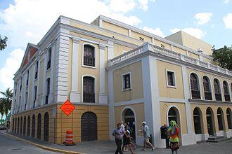 Teatro Tapia - Image: Teatro Tapia San Juan IMG 2003 calle tetuan