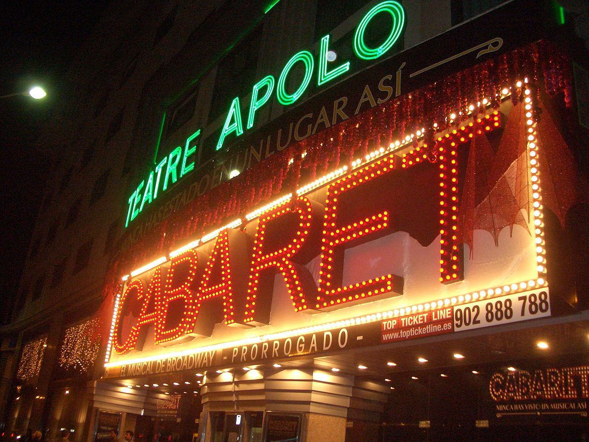 Teatro apolo barcelona wikipedia la enciclopedia libre for Espectaculos teatro barcelona