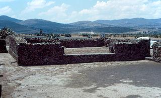 Tecoaque Aztec town