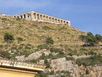 Epithets of Jupiter - Temple of Jupiter Anxur in Terracina