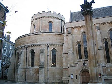 イギリス・ロンドンにあるテンプル教会