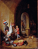 Teniers, David the younger - A Guard Room - Google Art Project.jpg