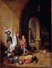 A Guard Room