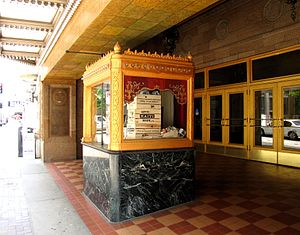 Tennessee Theatre - Entrance along Gay Street
