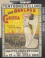 Tentoonstelling van Oorlogs Curiosa (exhibition of War Curiosities) Art.IWMPST13156.jpg