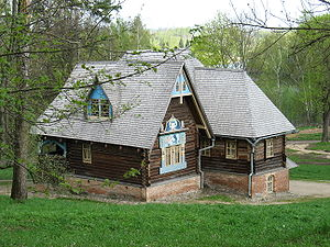 """Jural relationship - """"Terem"""" – Traditional house in European Russia"""