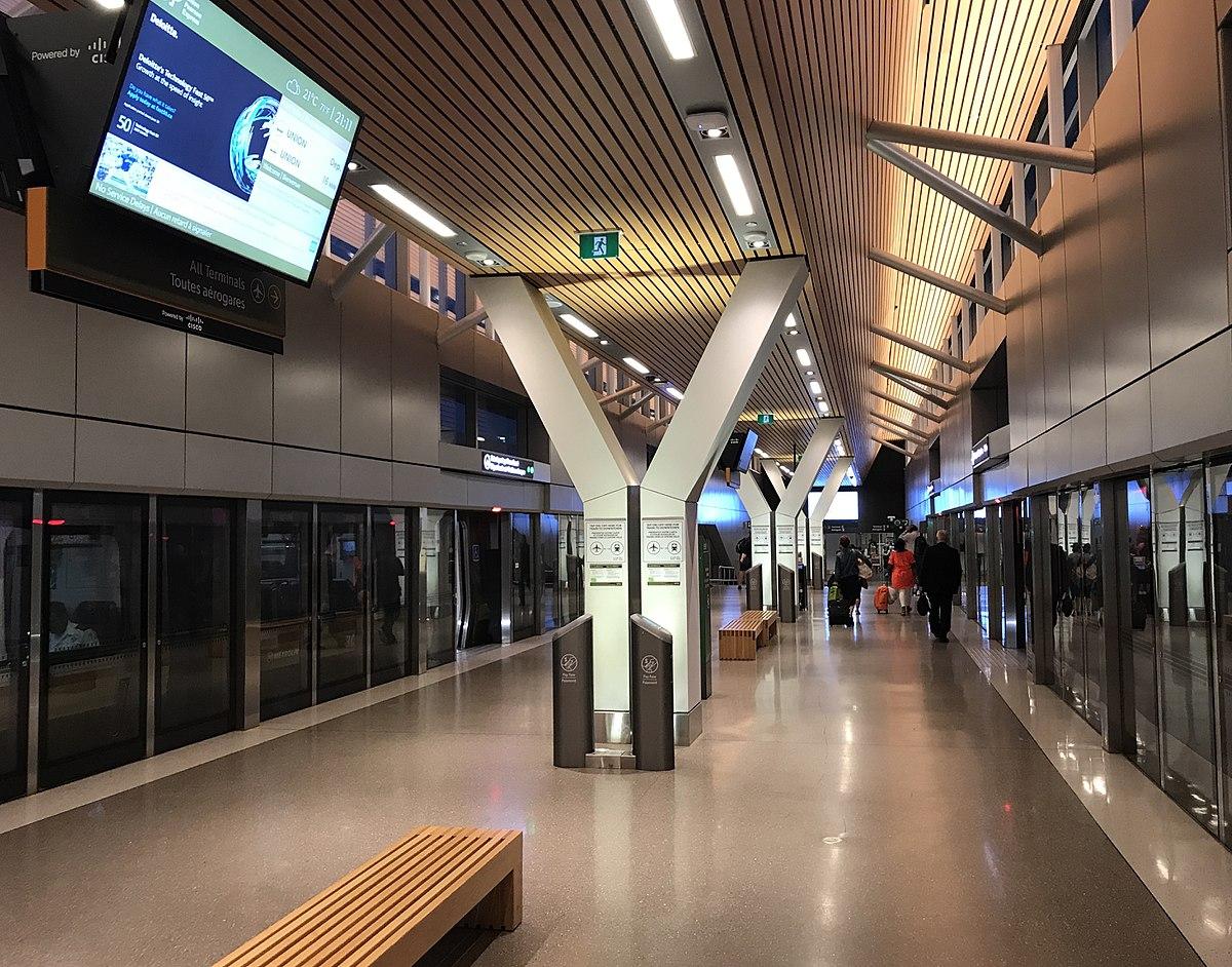Toronto Pearson Terminal 1 Station Wikipedia