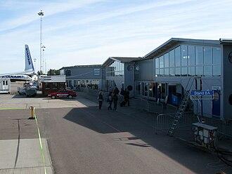 Stockholm Skavsta Airport - Apron view