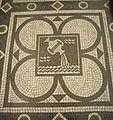 Testaccio - s M Liberatrice mosaico zodiacale Acquario 1180499.jpg