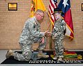Texas Military Forces honors cancer fighter at honorary enlistment ceremony 150327-Z-FG822-023.jpg