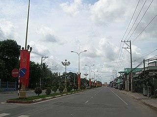 Bến Cầu District District in Southeast, Vietnam