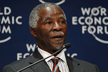 Thabo Mbeki - World Economic Forum on Africa 2008.jpg