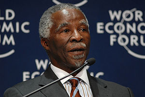 Chairperson of the African Union - Image: Thabo Mbeki World Economic Forum on Africa 2008