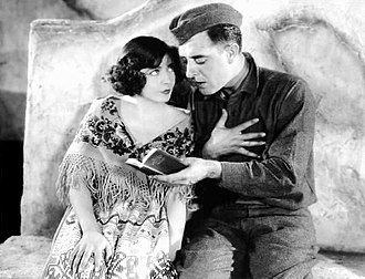 The Big Parade - Renée Adorée and John Gilbert in the Big Parade
