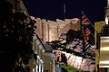 The Acropolis of Athens from Lysikratous Street on February 7, 2020.jpg