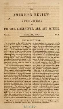 The American review - a Whig journal of politics, literature, art, and science (1845).djvu