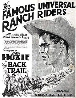 <i>The Back Trail</i> 1924 film