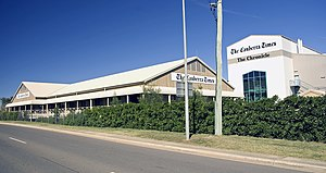 The Canberra Times - The Canberra Times and The Chronicle headquarters at Fyshwick