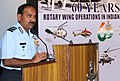 The Chief of the Air Staff, Air Chief Marshal Arup Raha delivering the inaugural address, during a symposium organised to commemorate 'Sixty Years of Rotary Wing Operation in India and the IAF', in New Delhi.jpg