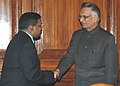 The DG Bangladesh Rifles, Maj. Gen. Shakil Ahmed meeting with the Union Home Minister, Shri Shivraj V. Patil, in New Delhi on April 08, 2008.jpg