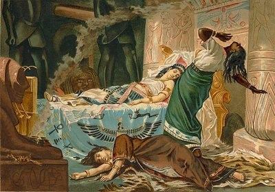 The Death of Cleopatra by Juan Luna1881