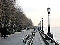 The Esplanade in Battery Park November 2003 New York City.jpg