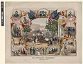 The Fifteenth Amendment. Celebrated May 19th, 1870 - from an original design by James C. Beard. LCCN2003690776.jpg