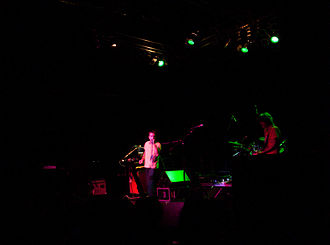 The Fixx - The Fixx, 2007. Cy Curnin and Jamie West-Oram.