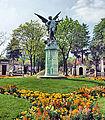 The Genius Of Eternal Sleep (1889) Statue In Montparnasse Cemetery, Paris April 2014.jpg