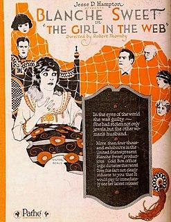 <i>The Girl in the Web</i> 1920 film