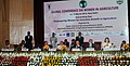 The Governor of Uttarakhand, Smt. Margaret Alva, the Chief Minister of Delhi, Smt. Sheila Dikshit and the DG, ICAR, Dr. S. Ayyappan at the Global Conference on Women in Agriculture, in New Delhi on March 13, 2012.jpg