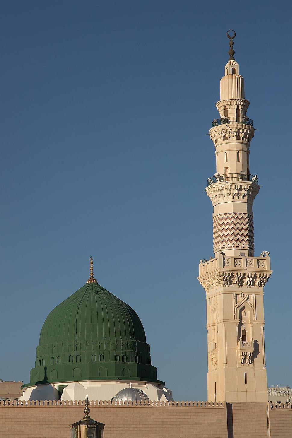 The Green Dome, Masjid Nabawi, Madina