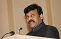 The Minister of State (Independent Charge) for Tourism, Shri K. Chiranjeevi addressing at the presentation ceremony of the National Tourism Awards 2011-12, in New Delhi on March 18, 2013.jpg