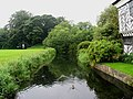 The Moat at Little Moreton Hall, Cheshire - geograph.org.uk - 1525.jpg