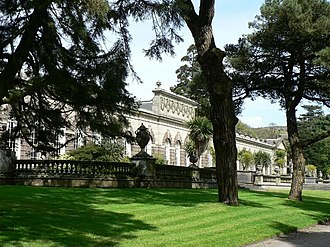 Anthony Keck - The Orangery at Margam Park – Keck's most important work