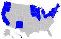 The Path to 270 electoral votes, Democrat edition.png