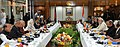The Prime Minister, Shri Narendra Modi and the Prime Minister of Bangladesh, Ms. Sheikh Hasina at the delegation-level talks, in Dhaka, Bangladesh on June 06, 2015 (1).jpg