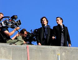 The Reichenbach Fall filming.JPG