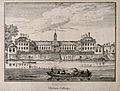 The Royal Hospital, Chelsea; viewed from the Surrey bank wit Wellcome V0012911.jpg