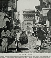 The Sûk-En-Nahassin, the Most Beautiful, Romantic, and Mediæval Street in Cairo. (1911) - TIMEA.jpg