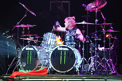 The Scorpions drums in Minsk.JPG