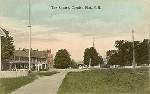 Cornish, New Hampshire - Image: The Square, Cornish Flat, NH