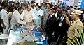 "The Union Home Minister, Shri Rajnath Singh visiting the ""Maritime India Summit - 2016"" expo, in Mumbai on April 15, 2016.jpg"