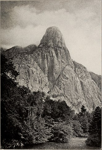Tehipite Valley - Tehipite Dome and the Middle Fork, c. 1920